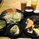 Tennosachiyamanosachi - 朝食バイキング
