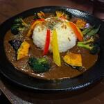 黒岩咖哩飯店 - 野菜カレー