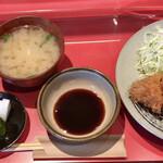 とんかつ 太志 - とんかつ(ロース180g)定食 1100円