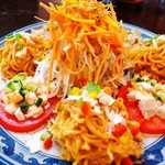 香菜 - 棒々鶏冷麺スペシャル(12年7月)