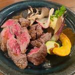 バル ペロタ - 信州牛のソテー 2,900円