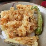 たかべえ - 料理写真:さざえかき揚げ丼