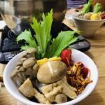 台湾素食無垢 Vegan KOYA CAFE - 料理写真:藥膳鍋