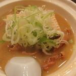 加賀屋 - もつ煮(450円)