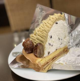 ハーブス - 中にクリームと大納言小豆