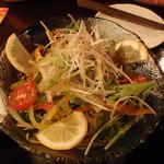 13958585 - 島野菜サラダ シークワーサードレッシング
