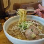 らーめん庵 - 麺