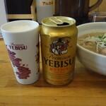 らーめん庵 - ビール