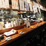 toritonkicchin - 店内(カウンター席)