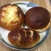 パンのつるまき - 料理写真:ポテトサラダぱん、UFO、紫いもぱん