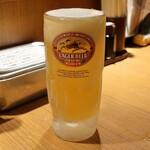 らくだや - キリンラガー生ビール