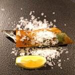 Chuugokusaiesusawada - 秋刀魚の春巻
