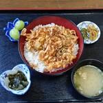 玉鉾 - 料理写真:かきあげ丼1130円