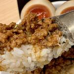 紀州清流担々麺 produce by KEISUKE - 料理写真:ご飯はこんな感じ