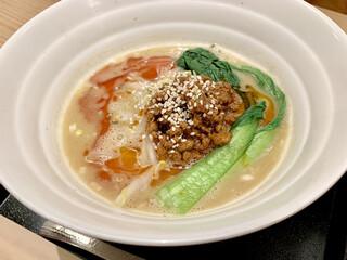 紀州清流担々麺 produce by KEISUKE - 白ごま担々麺900円