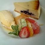 メゾン ド フルール - フルールチーズケーキ