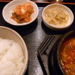 韓国亭 - スンドゥプ定食