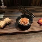 梅田 お初天神 大人の神戸牛焼肉 - 前菜三種
