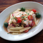 トラットリア ピッツェリア アミーチ - タコとセロリのサラダ