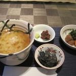 和食 浜木綿 - 鯛味噌(海苔の上にあるやつ)は、ちょっと思ってたのと違った(汗)