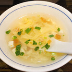 成都 陳麻婆豆腐 - スープ