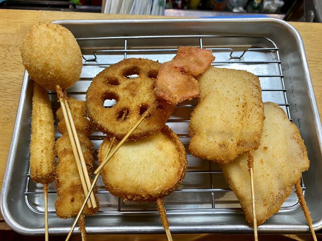 串かつ 末広の料理の写真