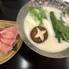 四季彩一力 - 料理写真:麓山高原豚しゃぶしゃぶ