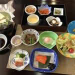 四季彩一力 - 地元産を使った朝食