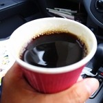 カフェ ド リュウバン - 本日のコーヒー(ごめん写真ぶれた)