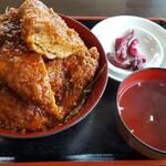 十文字屋 - 磐梯かつ丼(1200円税抜)