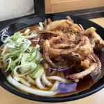 浜そば - 料理写真:天ぷらうどん 400円