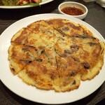 韓食堂 モクチャ - もちチーズチヂミ