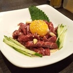 韓食堂 モクチャ - ユッケ(馬肉)