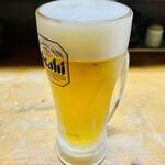 キッチンあまわか - 生ビール500円×1杯