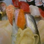 吉亀寿司 - 並にぎり 1.5人前