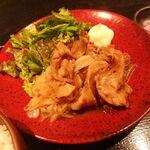 優結 - 生姜焼き