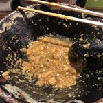 平太周 味庵 - 料理写真:大量の油脂