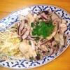 ナムチャイ - 料理写真:エリンギのピリ辛サラダ