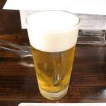 焼肉 誠之介 - ビール