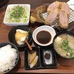 139652070 - 黒豚ひれかつ定食 2,500円