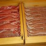 139654139 - 豚肉 肩ロース&バラ