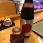 安兵衛寿し - 竹の露酒造純米大吟醸雪女神BUONO