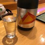安兵衛寿し - 竹の露酒造純米大吟醸スプレンディダ