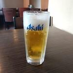 味香苑 - 生ビール(中)