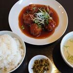 139659674 - ごぼう酢豚定食(ランチ)