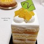 ヨロイヅカ ファーム トーキョー - 石垣パインショートケーキ