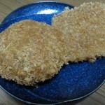 肉の雲野 - めがメンチかつ ¥100、ハムかつ ¥80-