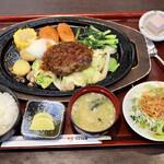 だんらん亭 - 料理写真:知多牛ハンバーグ定食