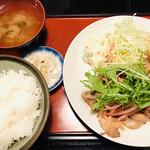 京ばし とり安 - 鶏肉の梅風味