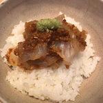 139663234 - 鯛の胡麻味噌丼